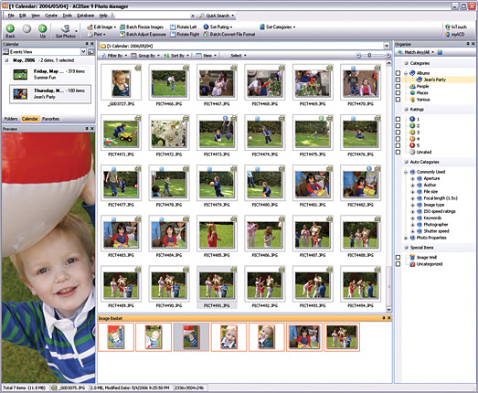 Click to view ACDSee 9 Photo Manager screenshots