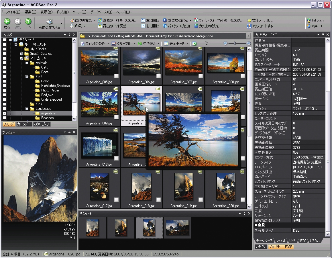 ACDSee Pro 2 Photo Manager Screenshot