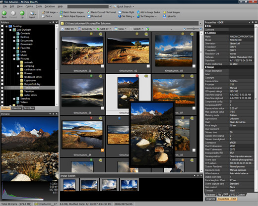 ACDSee Pro Photo Manager 2.5 Screen shot