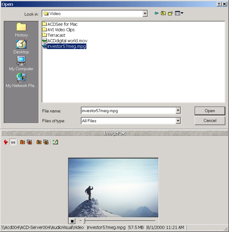 View images, videos and sound files in most Windows Open/Save_as dialog boxes.